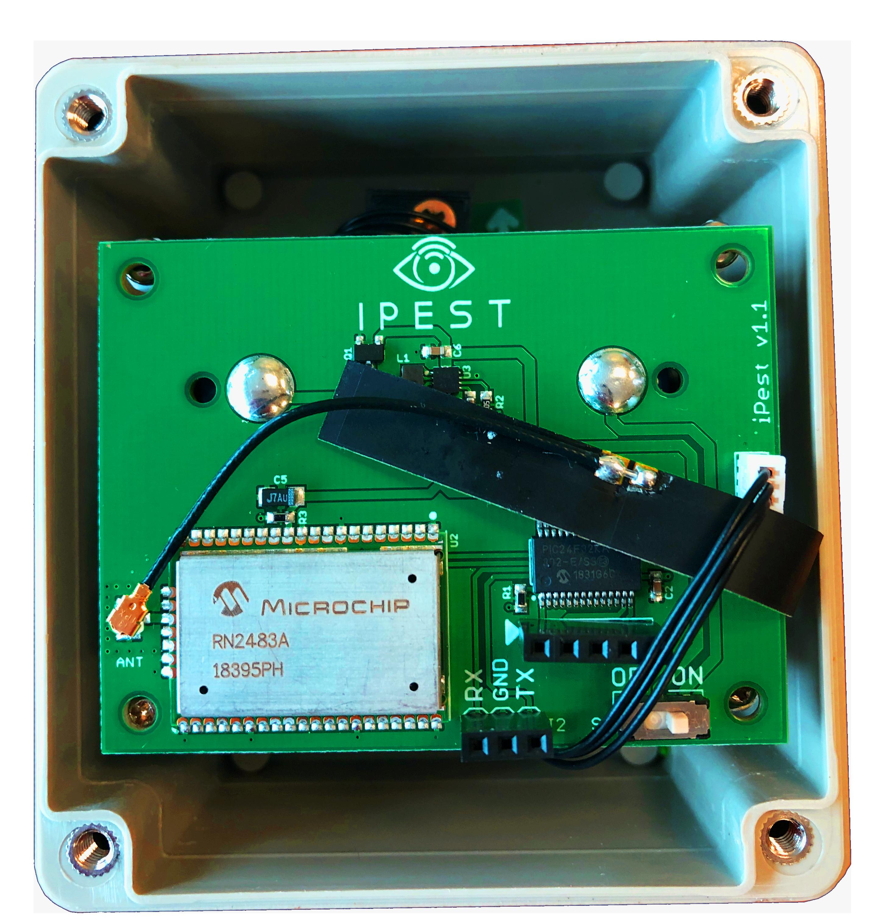 Ipest Pro circuit board